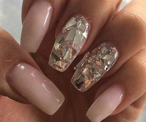 girly things, dope nails, and classy nails image