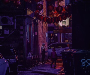 beauty, neon, and night image