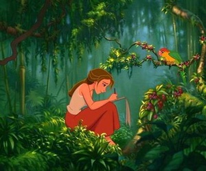 jane, disney, and tarzan image