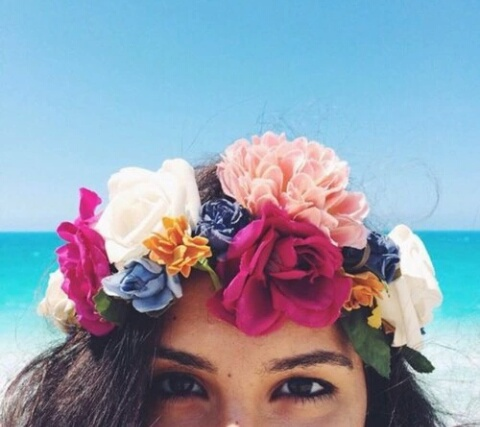100 Images About Crown Of Flowers On We Heart It See
