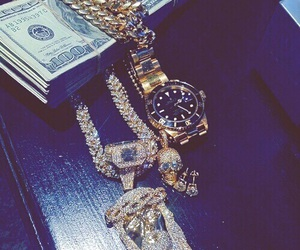 chains, diamonds, and dope image