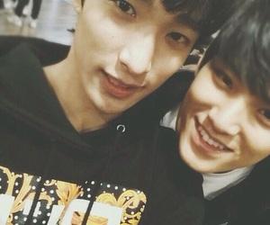Seventeen, mingyu, and DK image