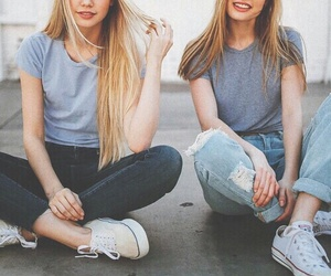 friends, best friends, and jeans image