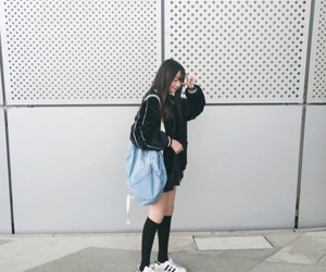 aesthetic, asian, and girl image