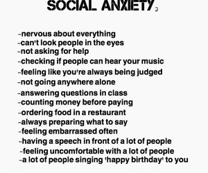 anxiety, hate, and people image