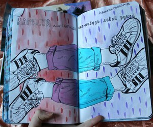 art, sketch, and wreck this journal image