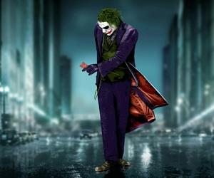 joker, batman, and comic image