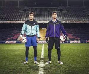 hachim mastour, football, and neymar jr image