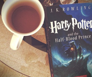 book, harry potter, and bookshelf image