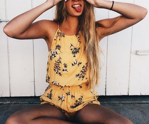 beautiful, outfit, and romper image