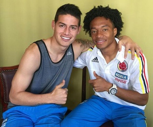 boy, colombia, and football image