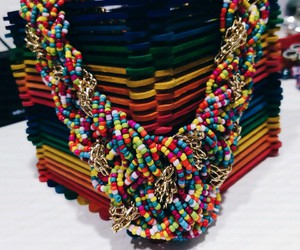 beauty, colourful, and jewellery image