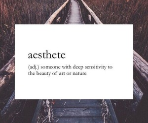 quotes, aesthete, and nature image