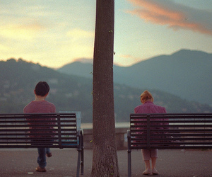 couple, lonely, and lovely image