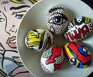 easter, eggs, and art image