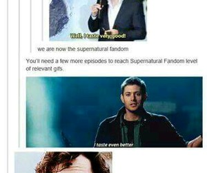 sherlock, supernatural, and dean winchester image