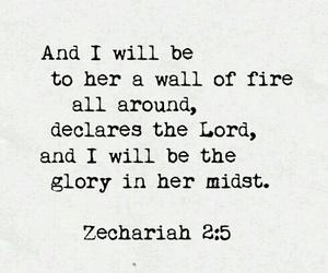 glory, god, and bible image