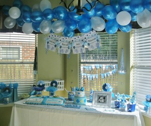 decoration and baby shower image