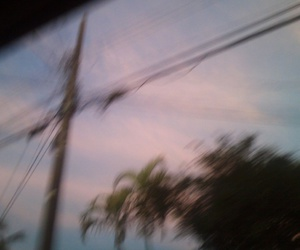 alternative, blurry, and clouds image