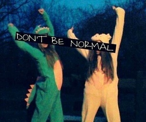 normal, friends, and crazy image