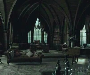 room, gothic, and dark image