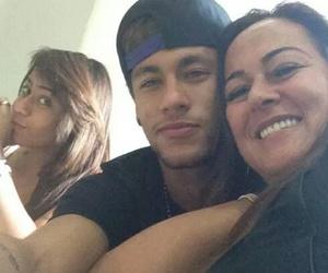 neymar, rafaella, and neymar jr image