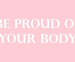 pink, body, and quotes image