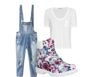 overalls, Polyvore, and jaayycloud image