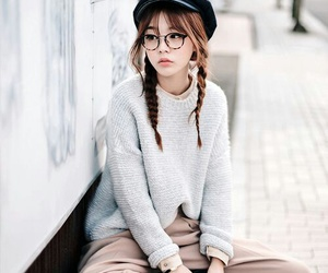 korean, style, and asian image