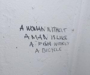 art, feminism, and graffiti image