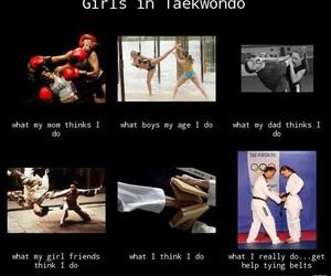 me, sport, and taekwondo image