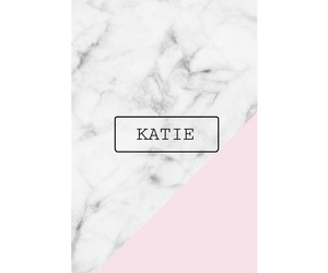 katie, pink, and wallpaper image