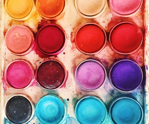 beautiful, painting, and colorful image