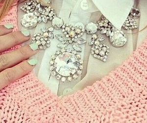 pink, nails, and style image