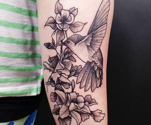 bird, cool, and tatoo image