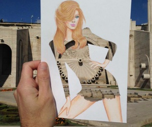 art, creative, and girl image
