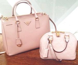 bag, fashion, and Prada image