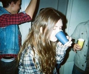 girl, indie, and party image