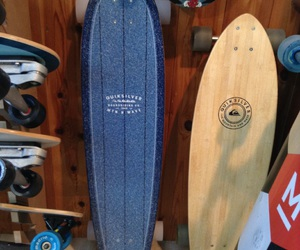 boards, longboard, and quicksilver image