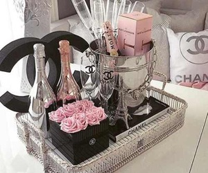 luxury, chanel, and champagne image