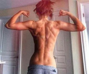 fit girls muscles image