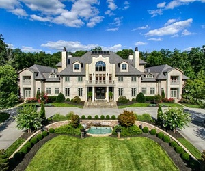 mansion, luxury, and beautiful image