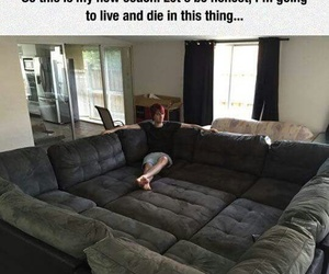 funny and couch image