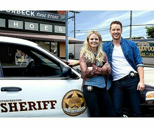 Jennifer Morrison, once upon a time, and josh dallas image