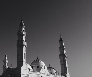 black, camera, and mosque image