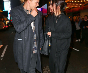 candid, celebrity, and couple image