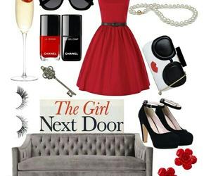dress, fashion, and Girl Next Door image