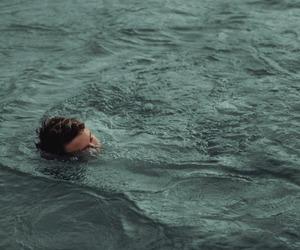 water, grunge, and boy image