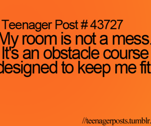 mess and teenager post image