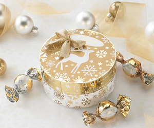 box, gold, and cute image